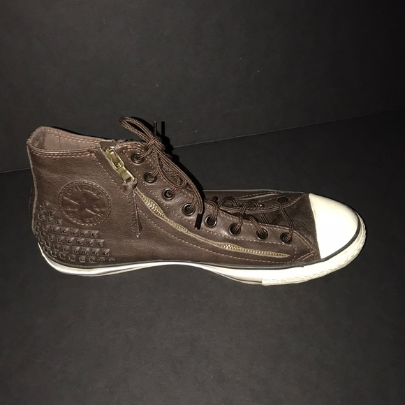 Converse Other - Converse John Varvatos Leather Hi Tops